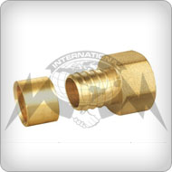 Brass Pex Coupling